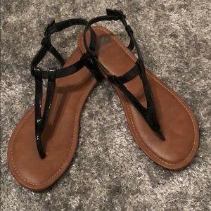 Fergalicious Symbolic Flat Thong Sandals